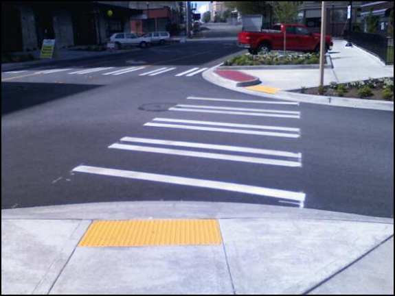 Do you like your crosswalks open or funneled?