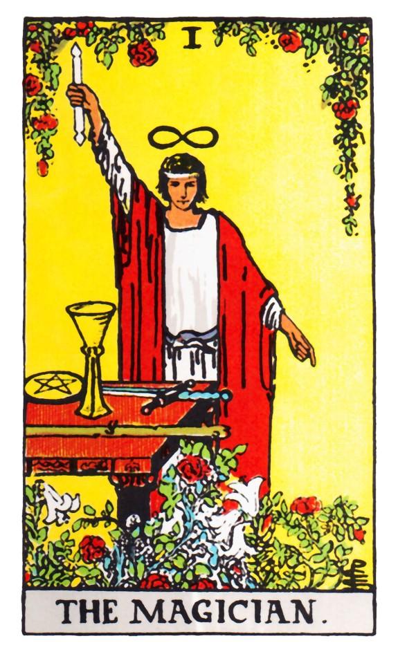 tarot-magician